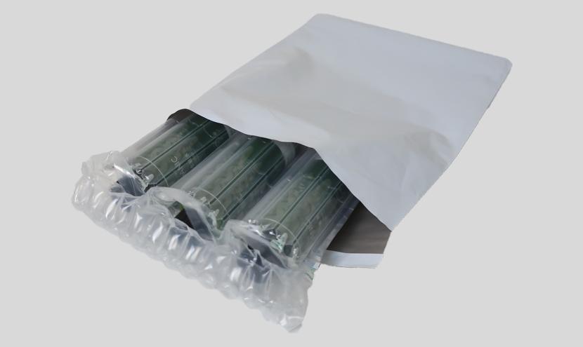 エアー緩衝材 空気緩衝材 化粧品梱包