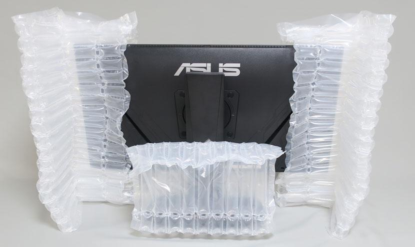 エアー緩衝材 空気緩衝材 液晶モニター・液晶テレビ梱包