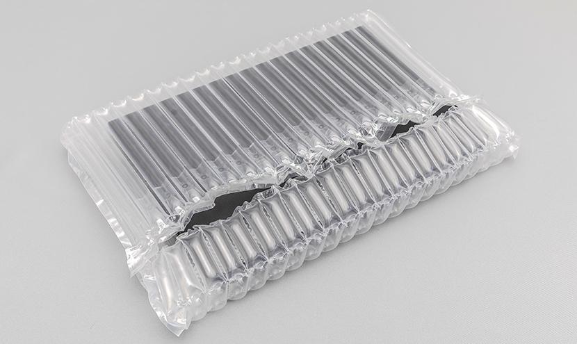 エアー緩衝材 空気緩衝材 ノートパソコン梱包