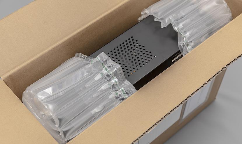 エアー緩衝材 空気緩衝材 デスクトップパソコン梱包